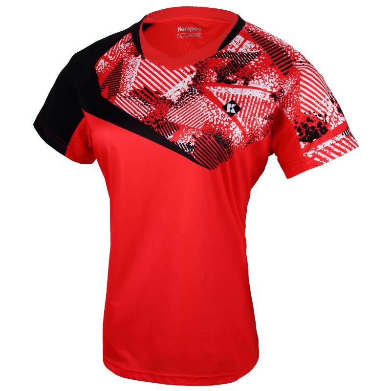 Футболка женская KW-8203(красный)