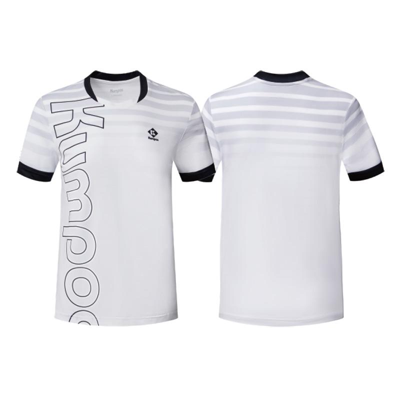 Футболка мужская KW-1102 (Белый/Черный)