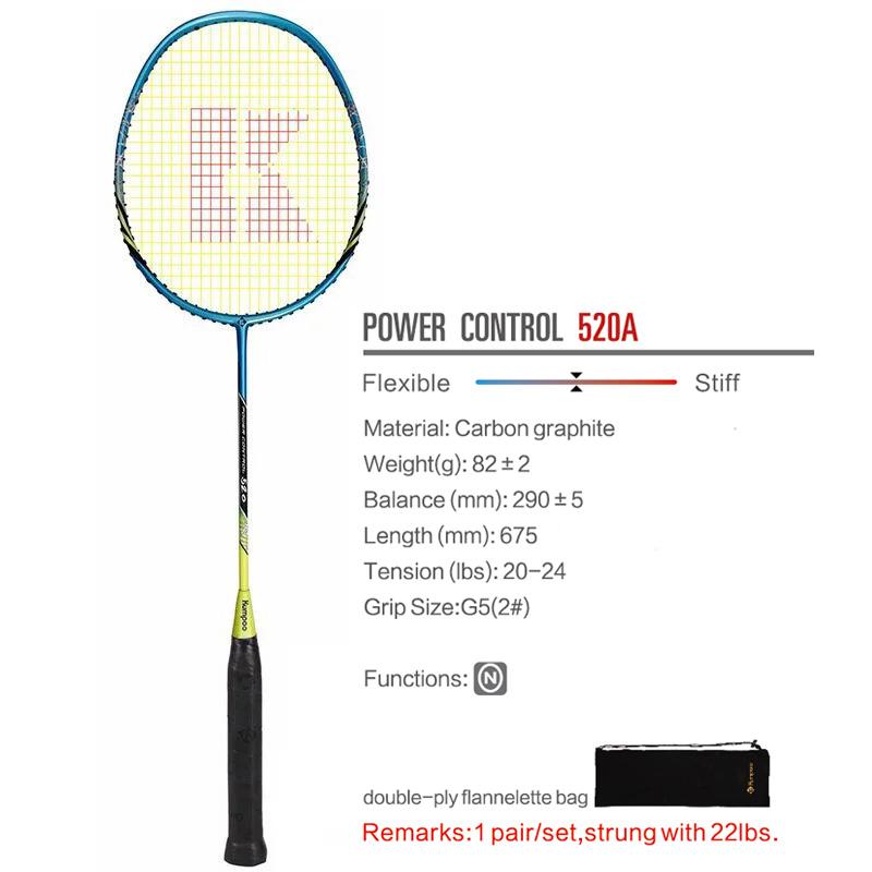 Ракетка для бадминтона POWER CONTROL 520A (Синий)