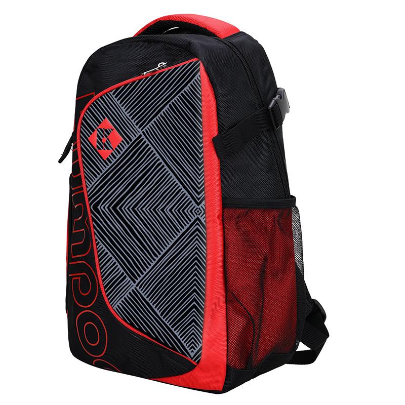 Рюкзак KB-122 (Красный/Черный)